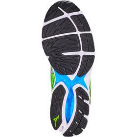 Mizuno Wave Rider 22 Shoes Men green gecko/silver/brilliant blue